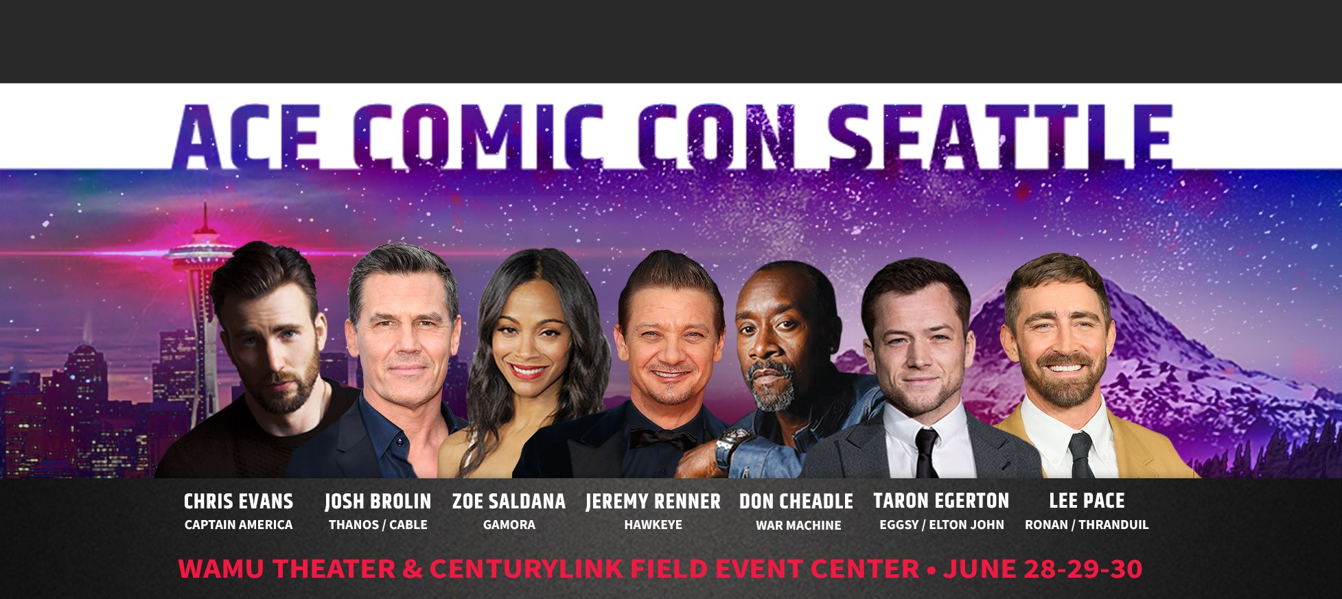 Focus comic to attend Ace comic con Seattle in June