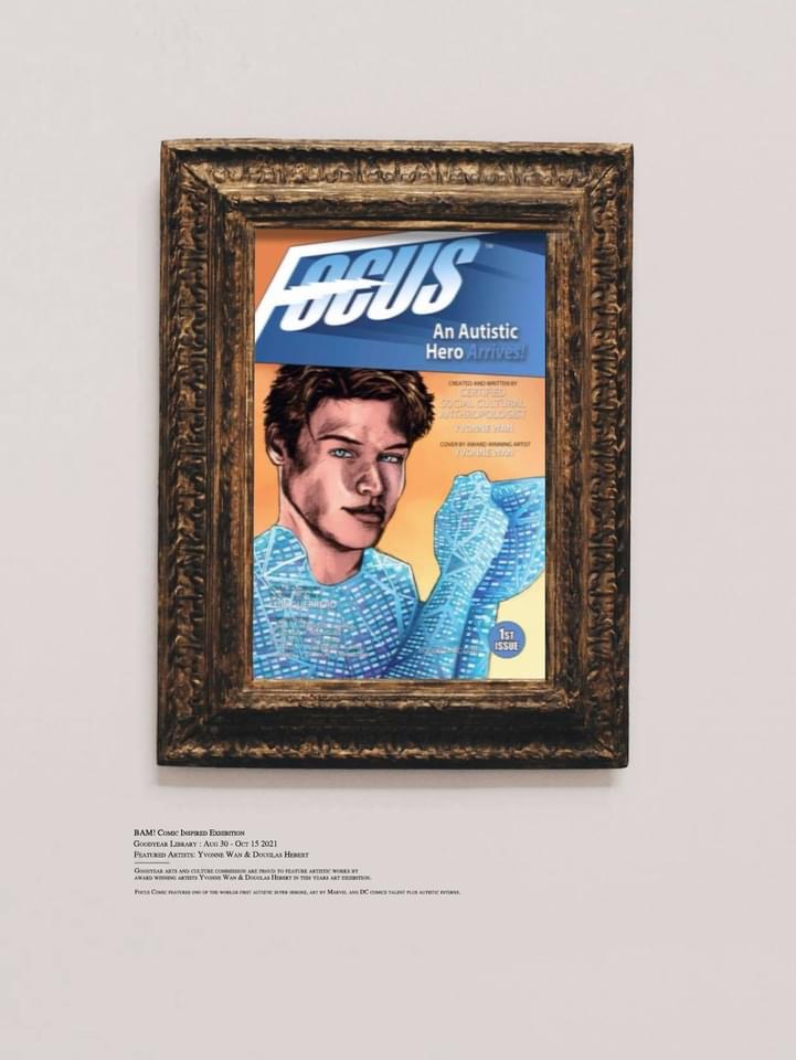 Focus comic to be featured at the BAM! Comic Art exhibit in Goodyear